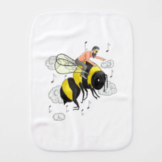 Flight of the Bumblebee by Nicolai Rimsky-Korsakov Burp Cloth