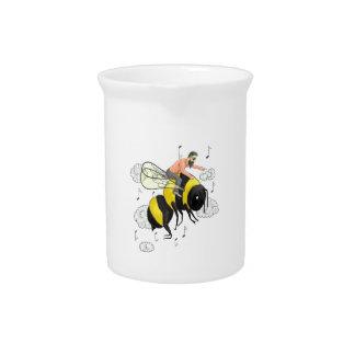 Flight of the Bumblebee by Nicolai Rimsky-Korsakov Pitcher
