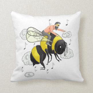 Flight of the Bumblebee by Nicolai Rimsky-Korsakov Throw Pillow