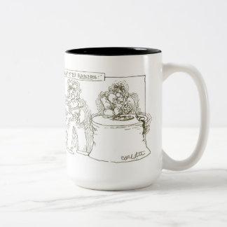 Flight of the Bumblebee! Two-Tone Coffee Mug