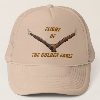 Flight of the Golden Eagle Trucker Hat