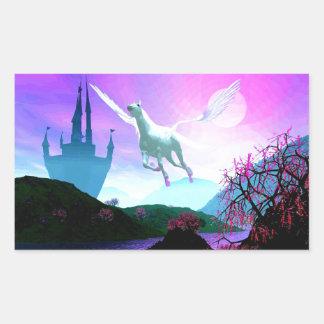 Flight of the Pegasus Sticker