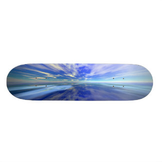 Flight over Water Custom Skateboard