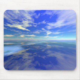 Flight over Water Mouse Pads
