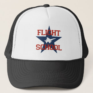 Flight School Trucker Hat