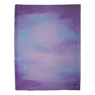Flighty Bed | Soft Purple Blue Pink Pastel | Chic Duvet Cover