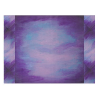 Flighty Table | Chic Watercolor Purple Blue Pink | Tablecloth