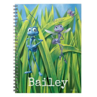 Flik, Dot and Princess Atta - Personalized Notebooks