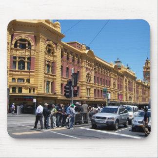 Flinder's Street Station Mouse Pad