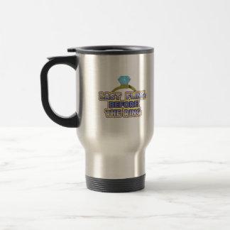 fling before ring bride bachelorette wedding party 15 oz stainless steel travel mug