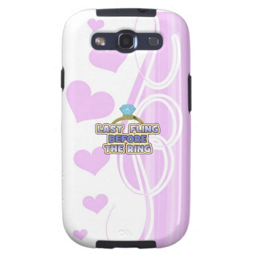 fling before ring bride bachelorette wedding party galaxy SIII cases