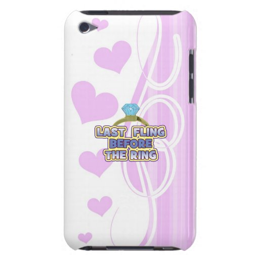 fling before ring bride bachelorette wedding party iPod touch covers