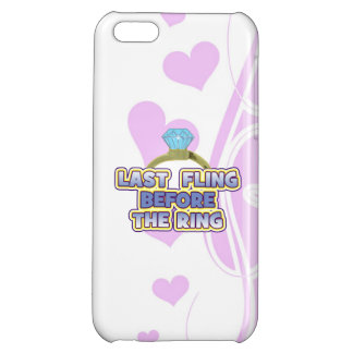 fling before ring bride bachelorette wedding party iPhone 5C cover