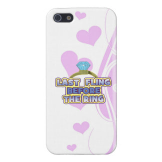 fling before ring bride bachelorette wedding party cases for iPhone 5