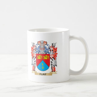 Flint Coat of Arms - Family Crest Coffee Mug