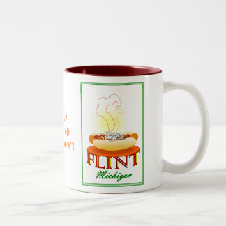 Flint Michigan Coney Island mug