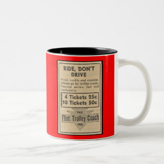Flint Trolley Coach mug