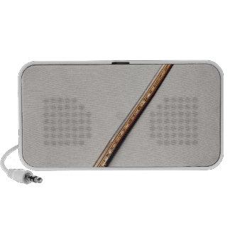 Flintlock rifle iPod speakers