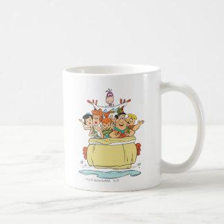 Flintstones Families2 Mug Blanc