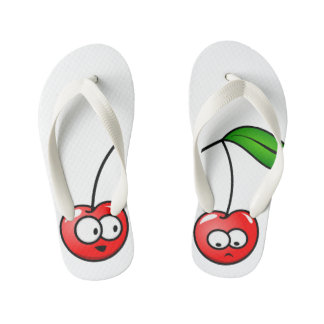 Flip Flop Cherry Talk Kids Shoes Perfect Gift