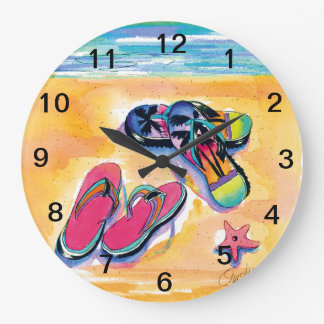 Flip-Flop -clock Wall Clock