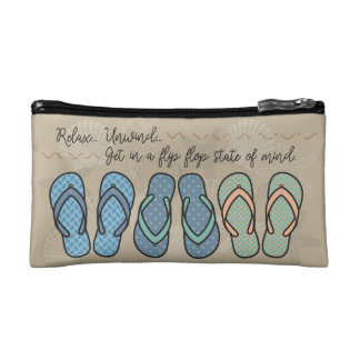 Flip Flop Cosmetic Pouch