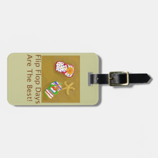 Flip Flop Days Luggage Tag