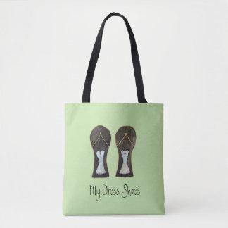 Flip Flop Dress Shoes Tote Bag