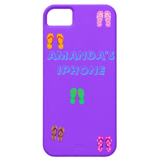FLIP FLOP FUN IN THE SUN CASE FOR THE iPhone 5