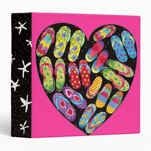 flip-flop heart-binder