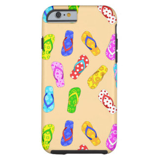 Flip Flop Pattern Phone Case