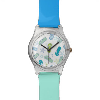 Flip Flop Pattern Wrist Watch