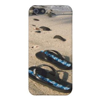 Flip Flop Sandals on the Beach iPhone 5 Case
