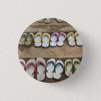 Flip Flop Sandles 1 Inch Round Button
