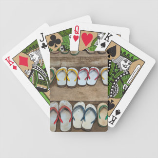 Flip Flop Sandles Bicycle Playing Cards