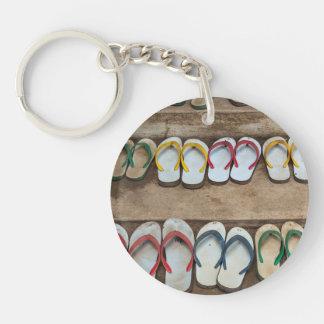 Flip Flop Sandles Keychain