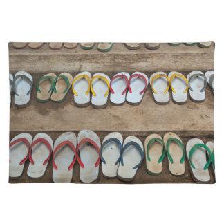 Flip Flop Sandles Placemat