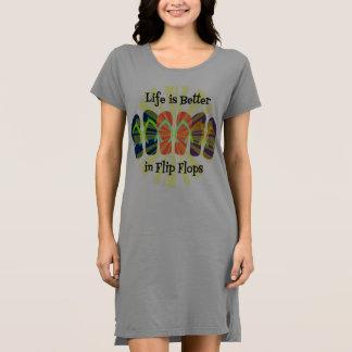 Flip Flop Tshirt Dress