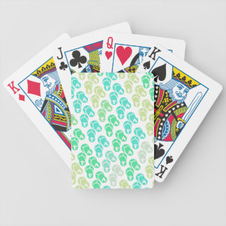 Flip Flop Unicorn Bicycle Playing Cards