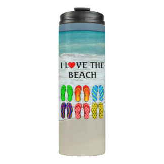Flip-Flops Beach Love Thermal Tumbler
