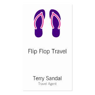 Flip Flops Business Cards