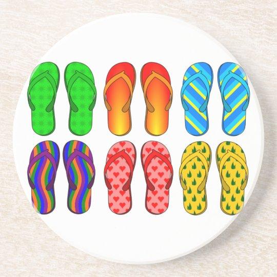 Flip Flops Coaster