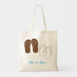 Flip Flops Couple's Bridal Bag