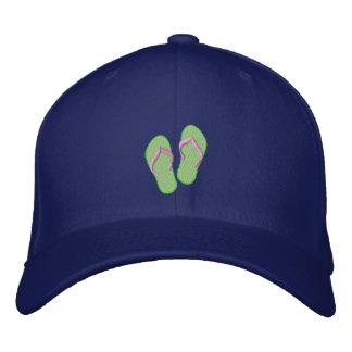 Flip Flops Embroidered Hat