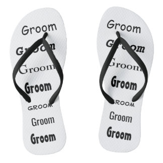 Flip Flops for Groom