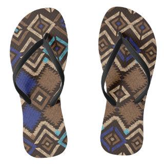 Flip flops for summer  - Ethnic Print