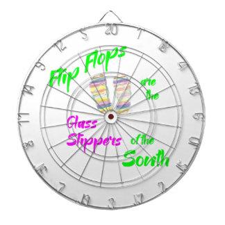 Flip flops for T Dart Board