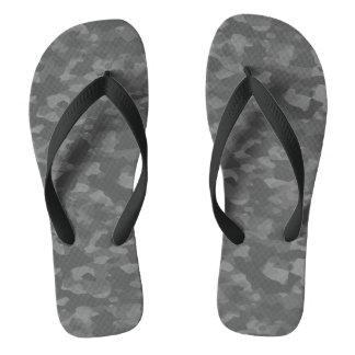 Flip-flops Gray Camouflage Flip Flops