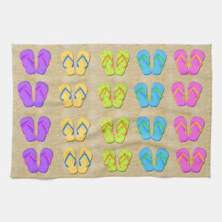 Flip Flops Kitchen Towel