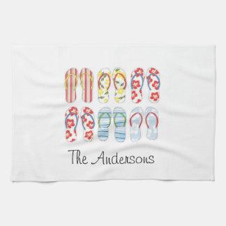 Flip Flops kitchen towels